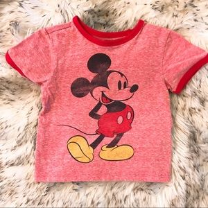 Mickey Mouse Red Tee